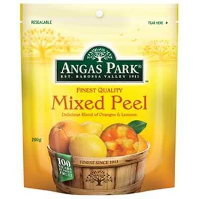 Angas Park Fruit Mixed Peel Oranges & Lemons