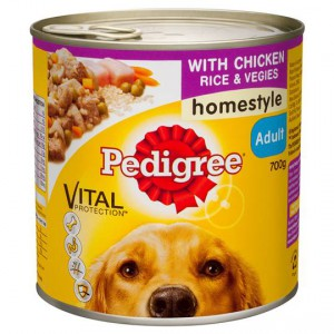 Pedigree Adult Dog Food Homestyle With Chicken Rice & Vegies