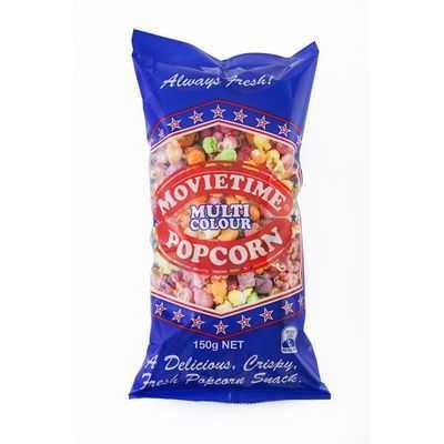 Movietime Popcorn Bag Multi Coloured