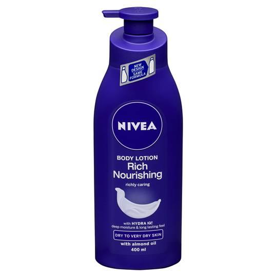 Nivea Body Moisturiser Body Nourish Dry