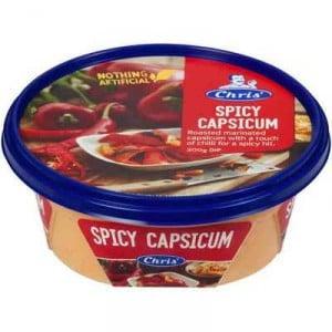 Chris' Dips Spicy Capsicum