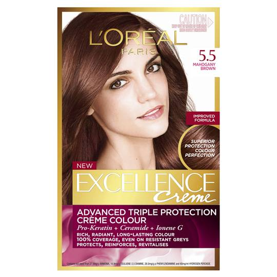 L'oreal Excellence Crème 5.5 Mahogany Brown