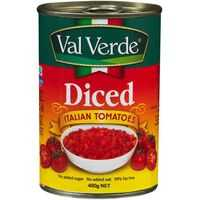 Val Verde Italian Tomatoes Diced