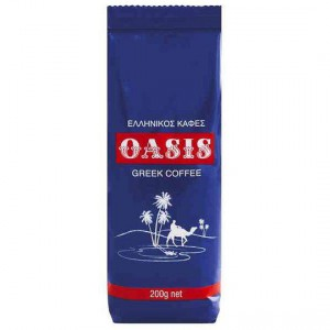 Oasis Greek Style Ground Coffee