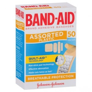 Band-aid Plastic Strips Shapes