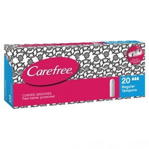 Carefree Tampons Regular