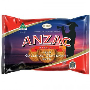 Unibic Anzac Authentic Biscuits