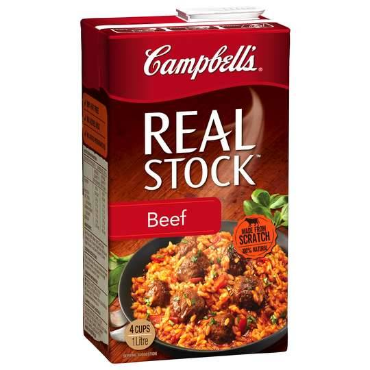Campbells Real Beef Liquid Stock