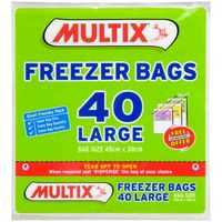 Multix Freezer Bags Large Tear Off