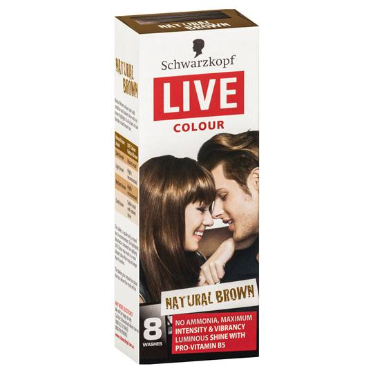 Schwarzkopf Live Colour Natural Brown