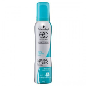Schwarzkopf Extra Care Mousse Strong Hold