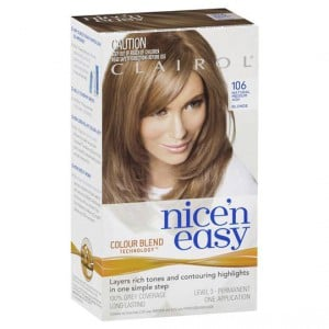 Clairol Nice N Easy 106 Natural Medium Ash Blonde