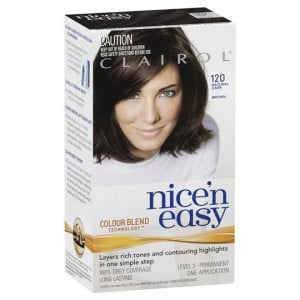 Clairol Nice N Easy 120 Natural Dark Brown