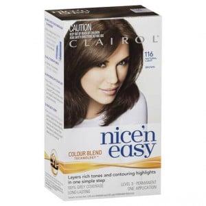 Clairol Nice N Easy 116 Natural Light Brown