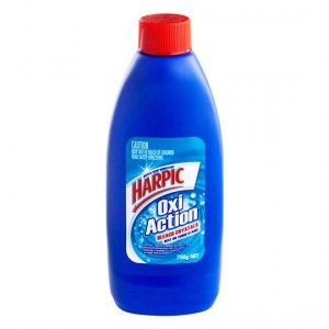 Harpic Heavy Duty Toilet Cleaner Oxy Action Crystal Regular