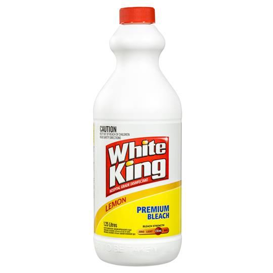 White King Bleach Lemon