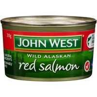 John West Salmon Red