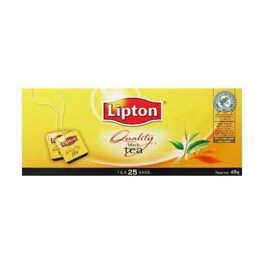 Lipton Quality Tea Bags Black