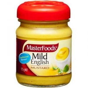 Masterfoods Mustard Mild English