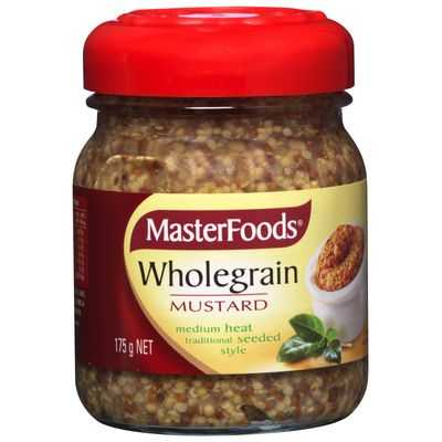 mom93821 reviewed Masterfoods Mustard Wholegrain