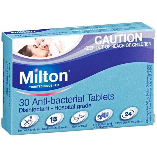 Milton Anti Bacterial Tablets