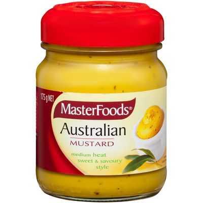 Masterfoods Mustard Australian