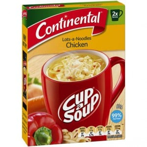 Continental Cup A Soup Lots-of-noodles Chicken