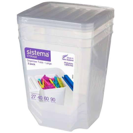 Sistema Storage Organiser Tubs 1.8l
