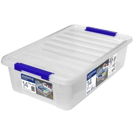 Sistema Storage Container With Lid 14l