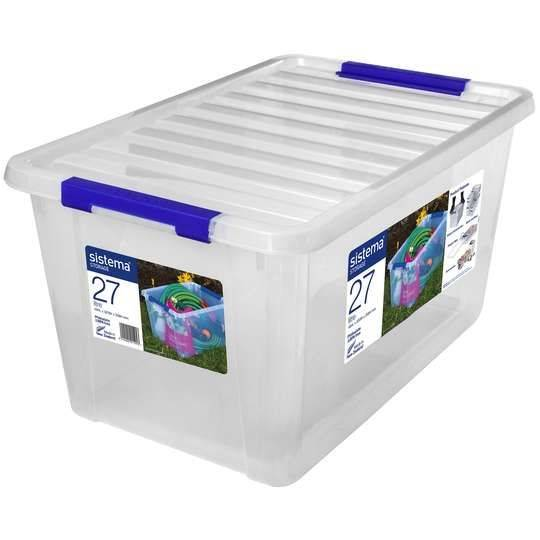 Sistema Storage With Lid 27l