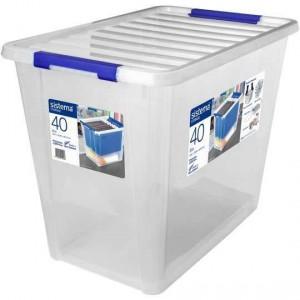 Sistema Storage With Lid 40l