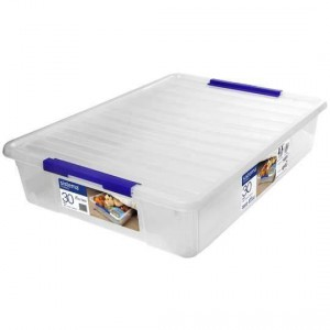 Sistema Storage With Lid 30l