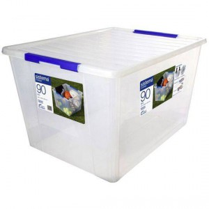 Sistema Storage With Lid 90l