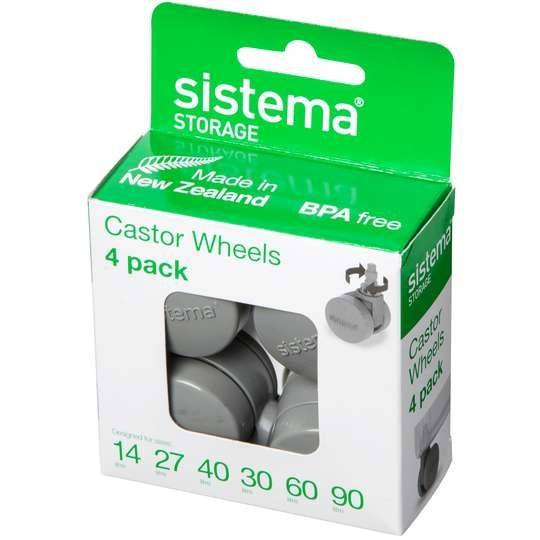 Sistema Storage Castor Wheels Grey