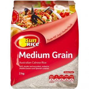 Sunrice White Rice Calrose Medium Grain