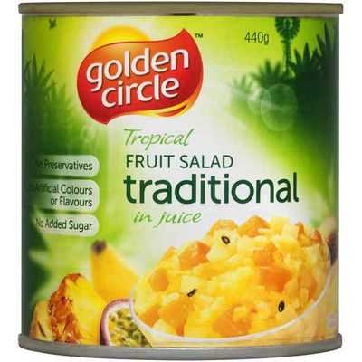 Golden Circle Fruit Salad Traditional In Natural Juice