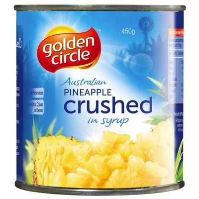 Golden Circle Pineapple Crushed In Syrup