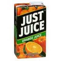 Just Juice Unsweetened Orange Juice