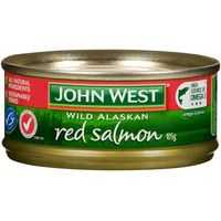John West Salmon Red
