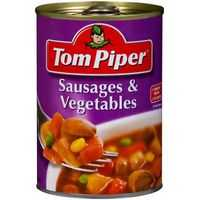 Tom Piper Sausages & Vegetables