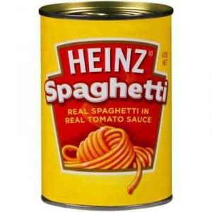 Heinz Spaghetti Tomato & Cheese Sauce