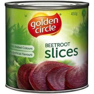 Golden Circle Beetroot Sliced
