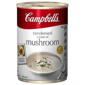 Campbell's Canned Soup Cream Of Mushroom