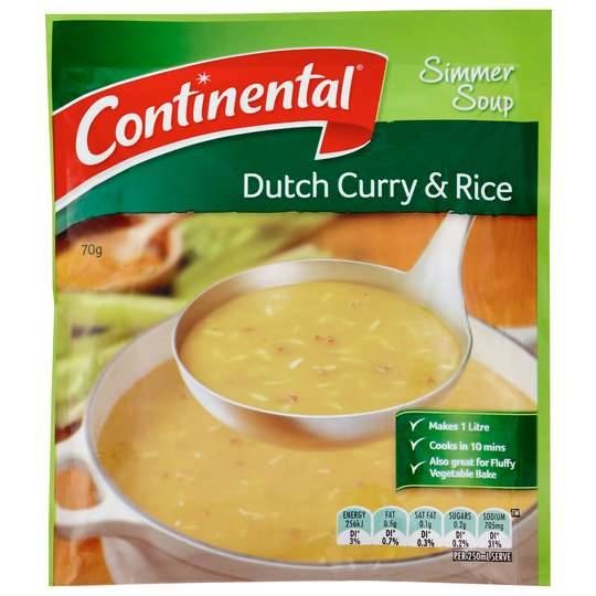 Continental Simmer Soup Dutch Curry & Rice