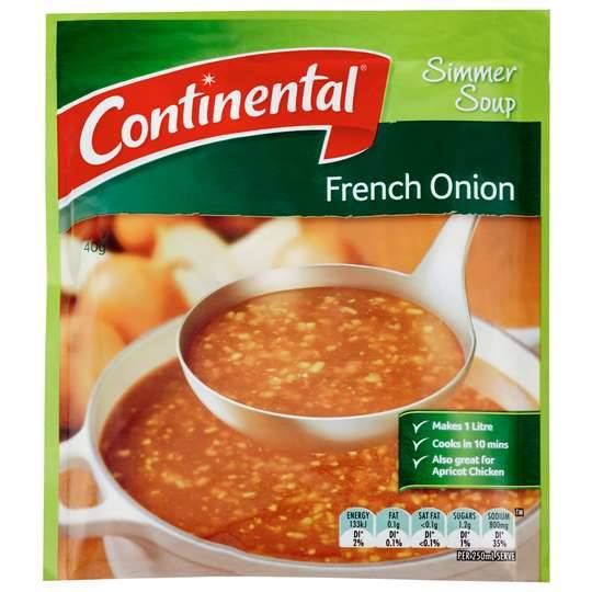 Continental Simmer Soup French Onion