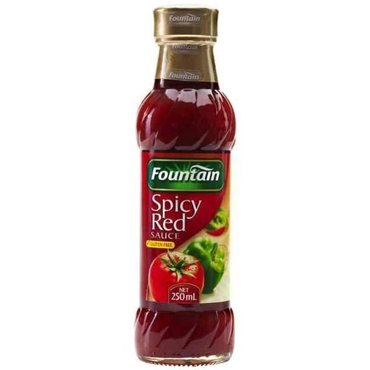 Fountain Tomato Sauce Spicy Red
