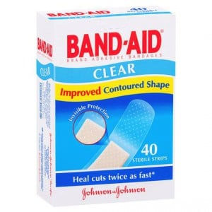 Band-aid Plastic Strips Clear