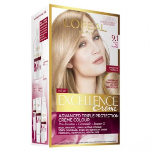 L'oreal Excellence Crème 9.1 Light Ash Blonde