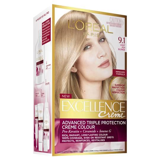 L'oreal Excellence Crème 9.1 Light Ash Blonde