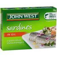 John West Sardines In Oil